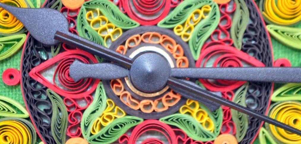 Square Canvas Clock