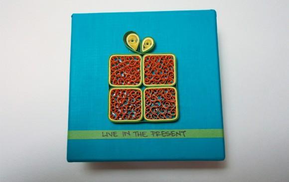 Live In The Present Box