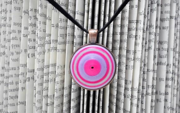 Quilled Paper Pendant | Domed Spiral