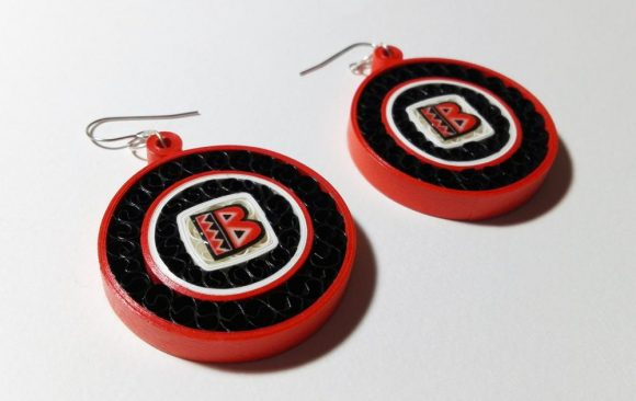 Quilled Paper Earrings | Batala