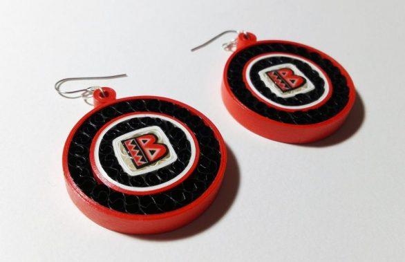 Σκουλαρίκια Χαρτοπλεκτικής | Batala