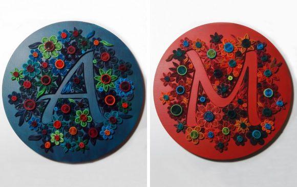 Α & Μ | Μονογράμματα