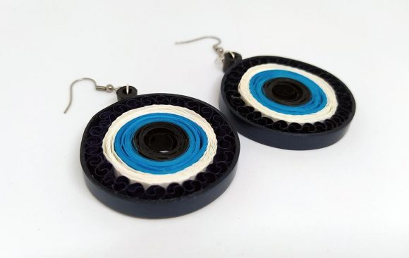 Σκουλαρίκια Χαρτοπλεκτικής | Ματάκια